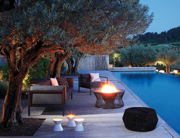 Decoraci n exterior con kettal for Kettal muebles jardin