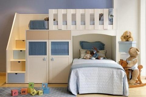 Literas para la habitaci n de los ni os - Dormitorios infantiles dobles ...