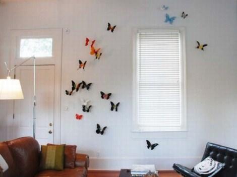 Mariposas para decorar - Mariposas para pared ...