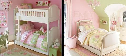 Dormitorios decorados para niñas