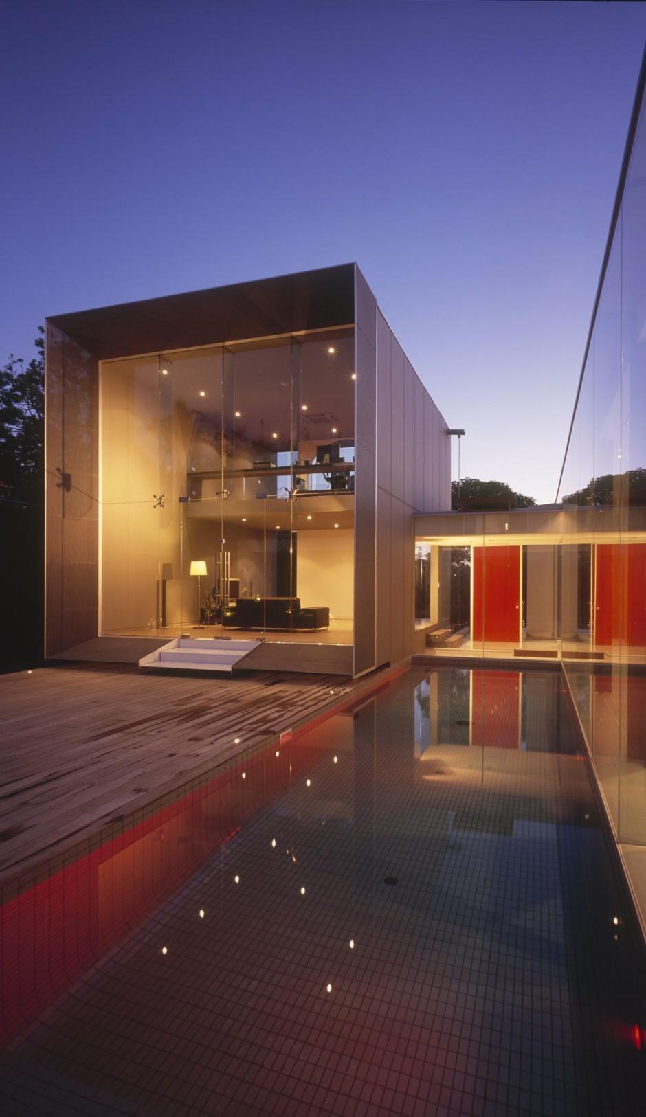 Casa minimalista en melbourne for Casa minimalista