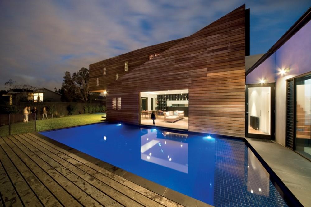 Casa de dise o de madera - Disenos casas de madera ...