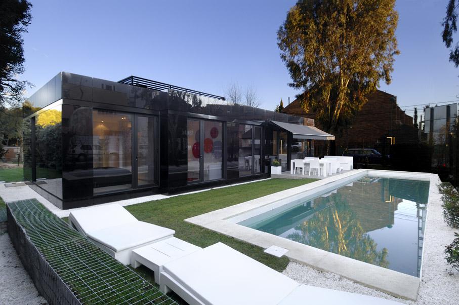 Casas modulares de A-cero