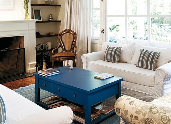 Colores para los muebles for Pintura azul para interiores