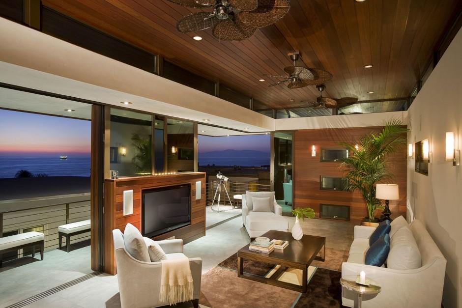 California Boho Living Room