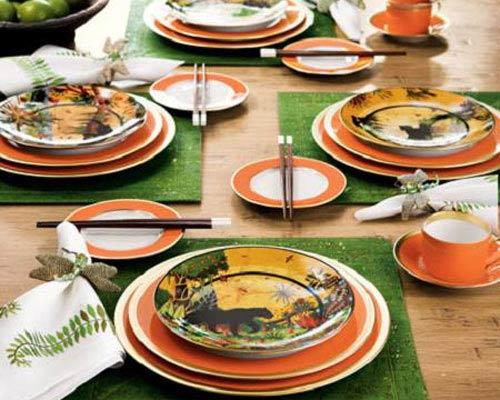 decoraci n para servir la mesa