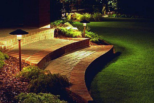 Mejorar la iluminaci n exterior - Iluminacion de jardin exterior ...