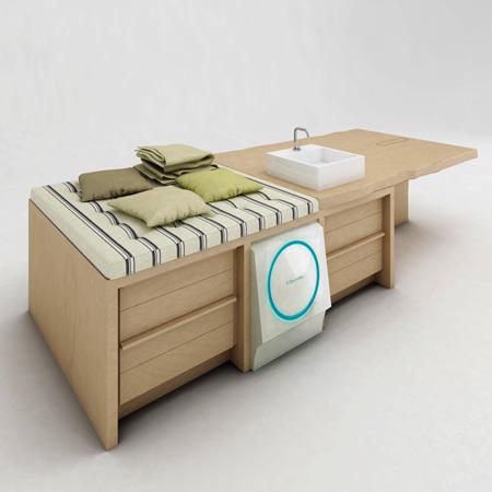 Muebles para el servicio de lavander a for Muebles lavanderia casa