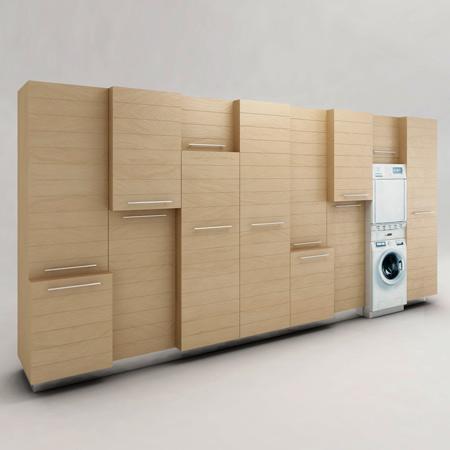 Muebles para el servicio de lavander a for Muebles para lavanderia de casa