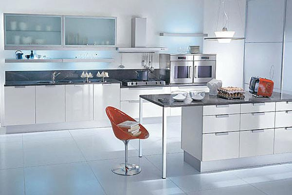 Decorablog revista de decoraci n for Cocinas grandes con isla