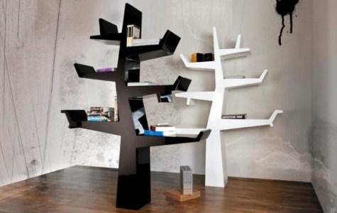 Estanter as con forma de rbol for Librerie di design famosi