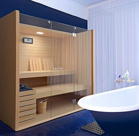 Saunas de dise o de effegibi - Tipos de saunas ...