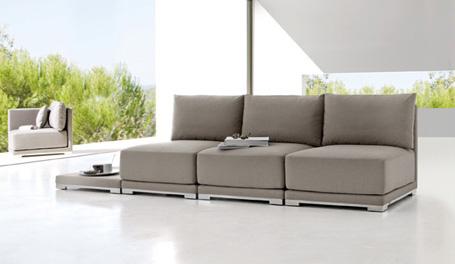 Muebles al aire libre estilo zen for Muebles estilo zen