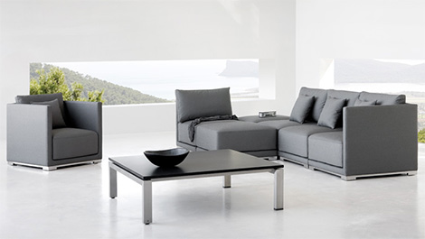 Muebles al aire libre estilo zen for Muebles bonitos sl