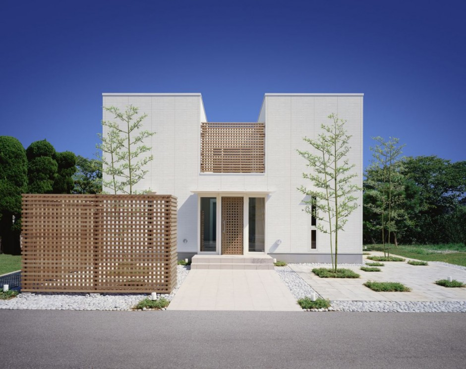 Casa japonesa de lujo for Casa moderna japonesa