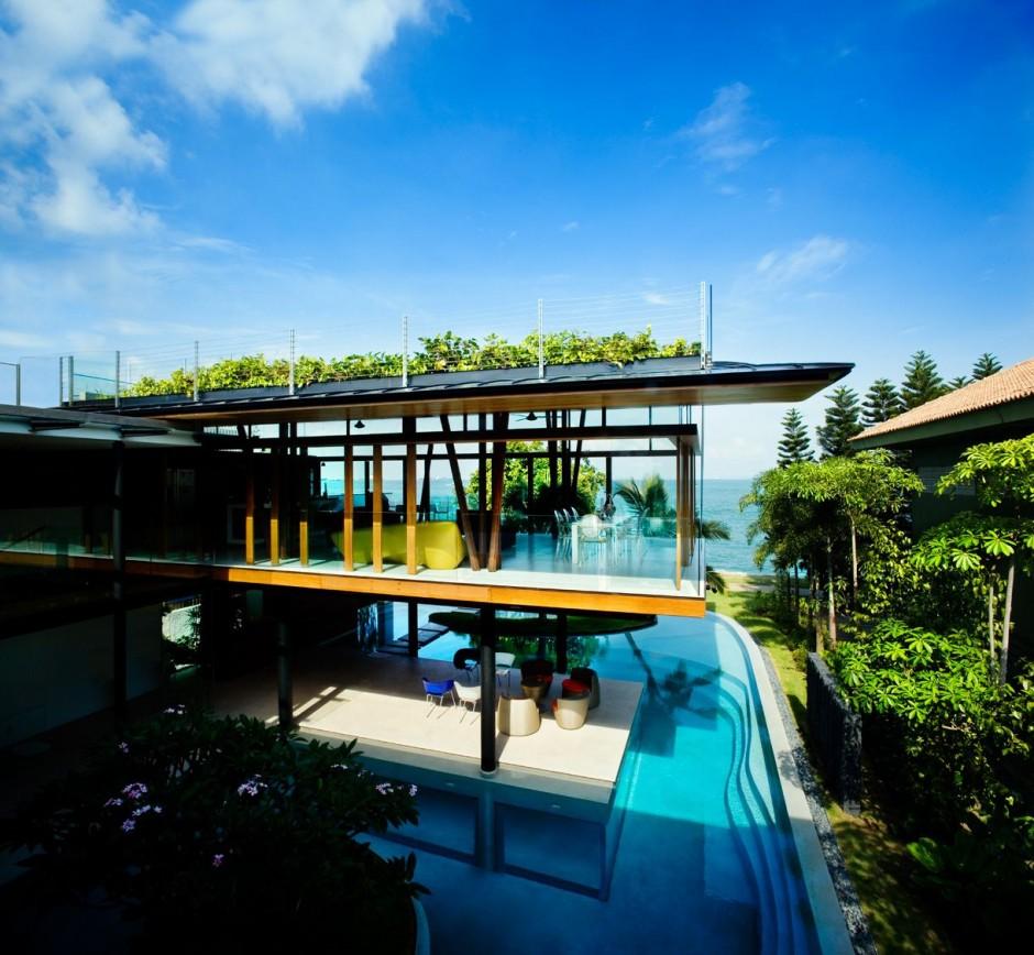 Modern Luxury Design Of The Garden House Plan Can Be Decor: Revista De Decoración