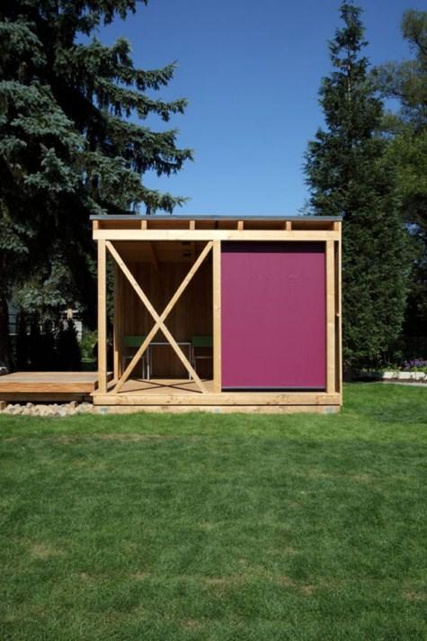 Moderna casa de madera for Casa moderna madera