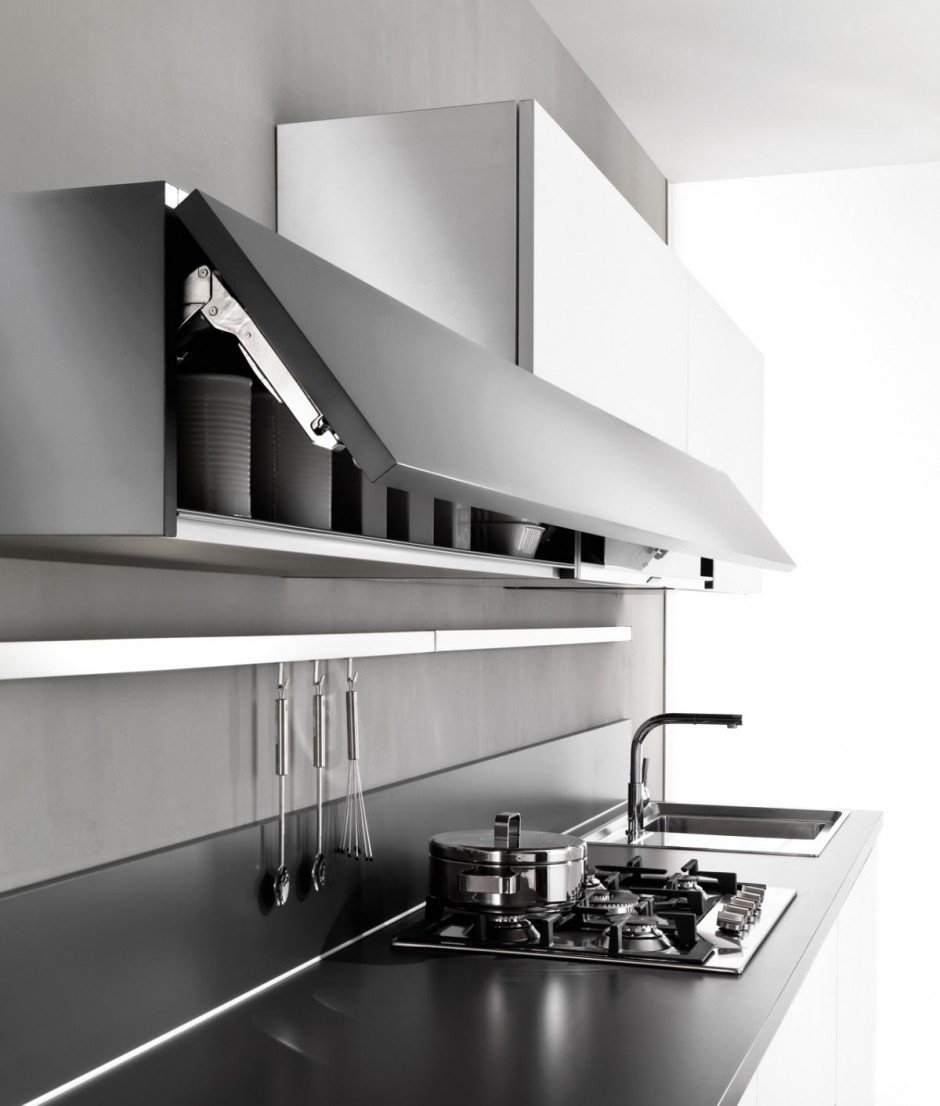Cocinas magika de pedini for Diseno de cocinas minimalista