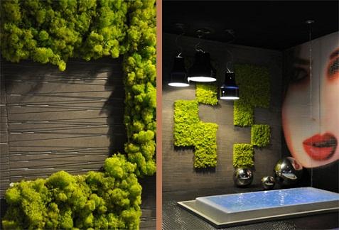 Jardines verticales para interiores for Decoracion paredes jardin