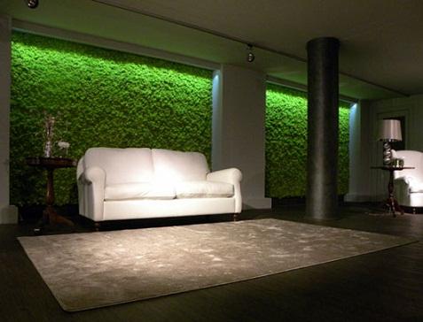 Jardines verticales para interiores for Paredes verticales de plantas