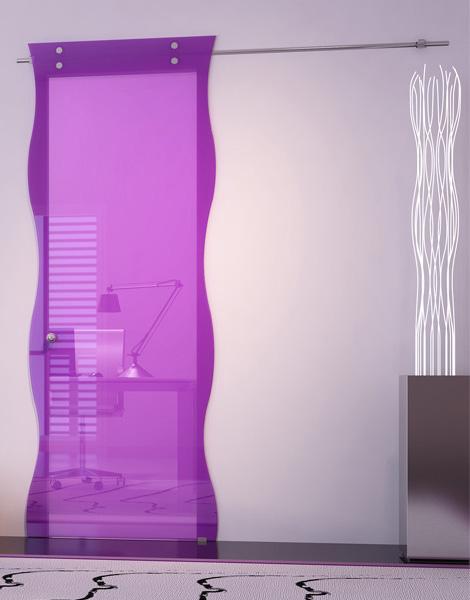 Puertas de cristal modernas