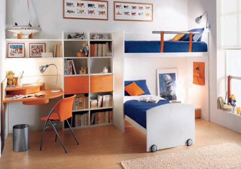 Dormitorio para dos - Dormitorios para dos ninos ...