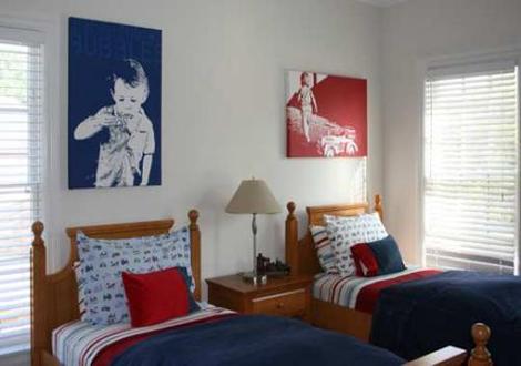 Dormitorio para dos - Organizar habitacion ninos ...