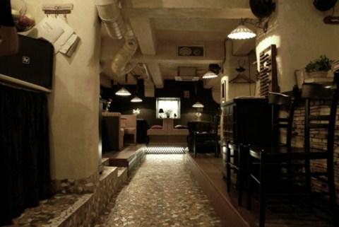 Cafeter a decorada al estilo vintage for Muebles para cafeteria vintage