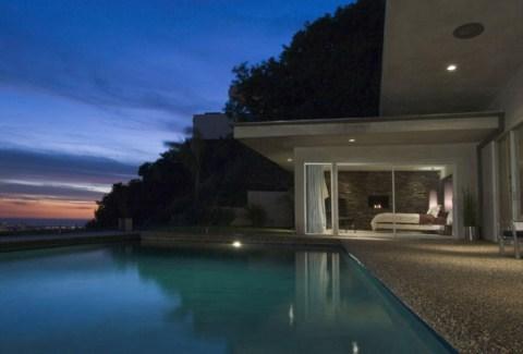 Casa de dise o con piscina en los ngeles - Casa los angeles ...