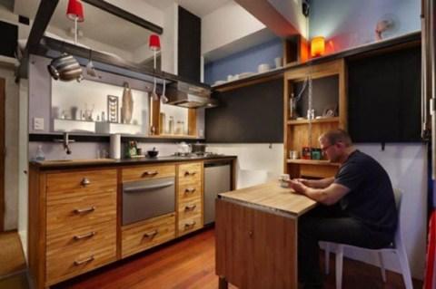 C mo vivir en un piso de 16 metros cuadrados for Vivir en un piso interior