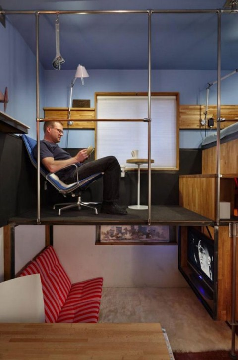 C mo vivir en un piso de 16 metros cuadrados - Ikea piso 25 metros cuadrados ...