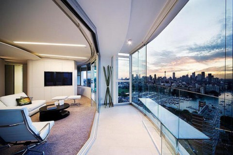 High End Contemporary Interior Design Decoration Ideas Apartamento Con Vistas Panor Micas