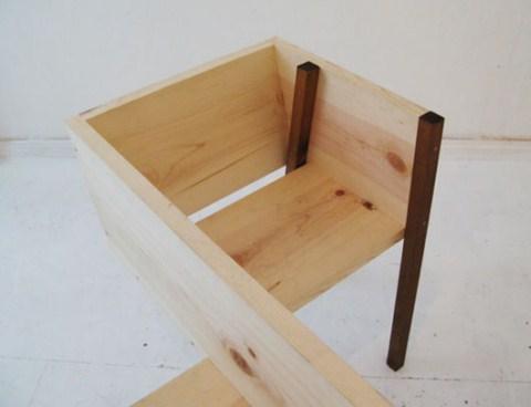 Bancos de madera minimalistas4 - Bancos de madera para banos ...