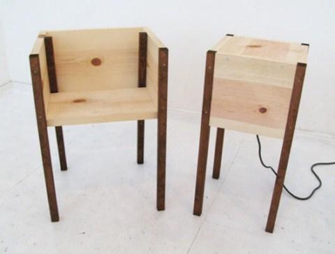 Bancos de madera minimalistas8 - Bancos de madera para banos ...