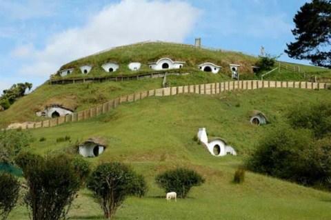 las casas donde se grab 243 el se 241 or de los anillos