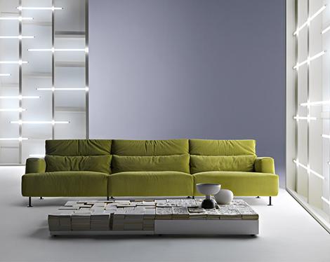Sof 225 Verde Desmontable Y Reciclable De Cassina
