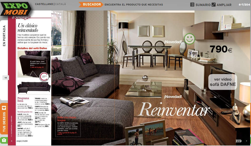 Decorablog revista de decoraci n for Expomobi muebles