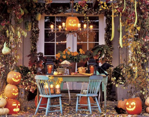 Ideas y ejemplos para decorar en Halloween