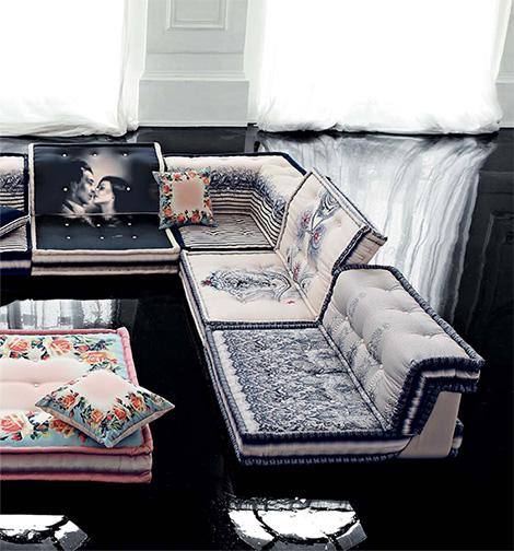 Muebles de alta costura por roche bobois for Muebles de costura