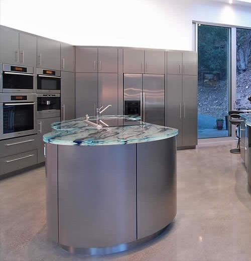 Encimeras de cristal por thinkglass - Encimeras de cocina de cristal ...
