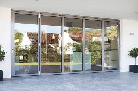 Puertas De Cristal Plegables De Exterior