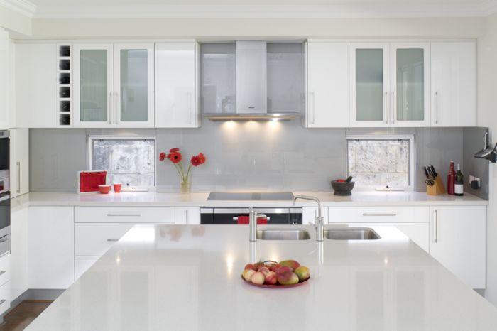 Iluminar la cocina integrada con el sal n - Iluminacion para cocinas ...