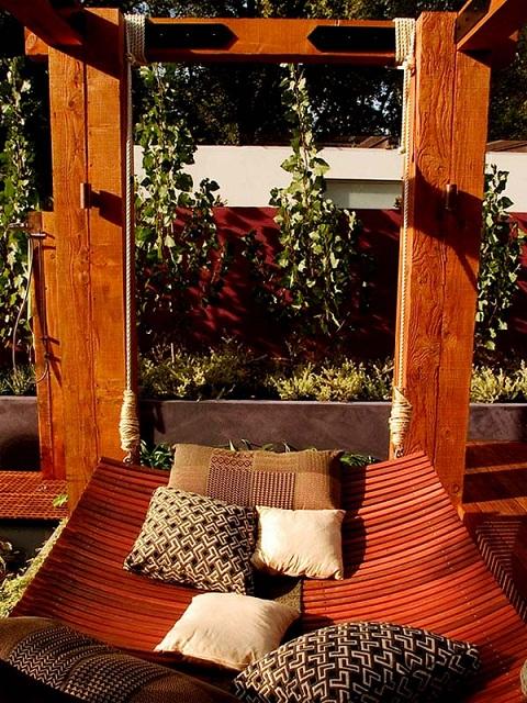 Jard n rom ntico y relajante for Jardin romantico