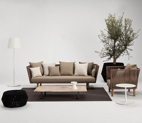 Muebles modulares para el patio por kettal for Kettal muebles jardin