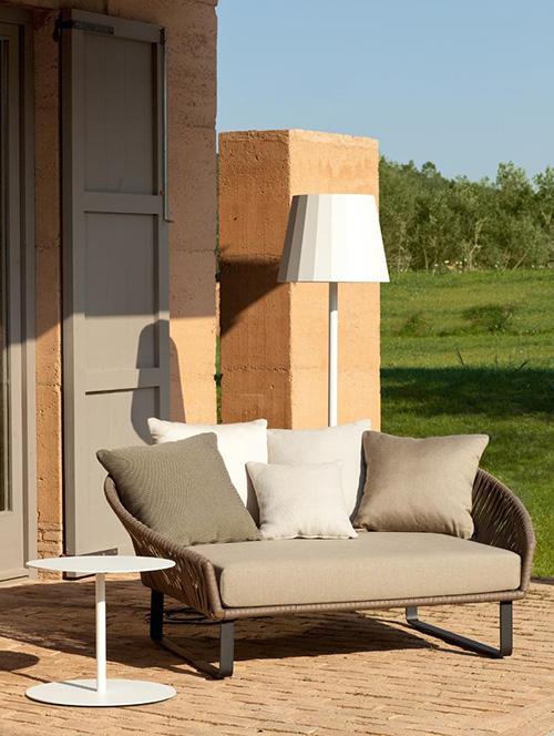 Muebles modulares para el patio por Kettal