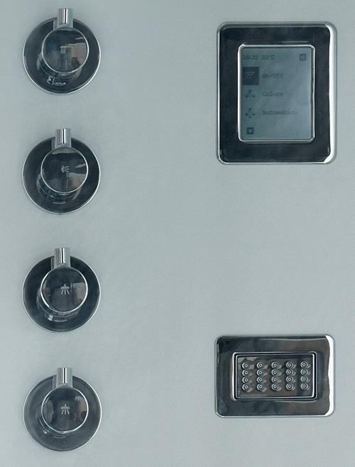 Cabinas De Ducha Kos:Cabina de aluminio Avec para ducha por Kos