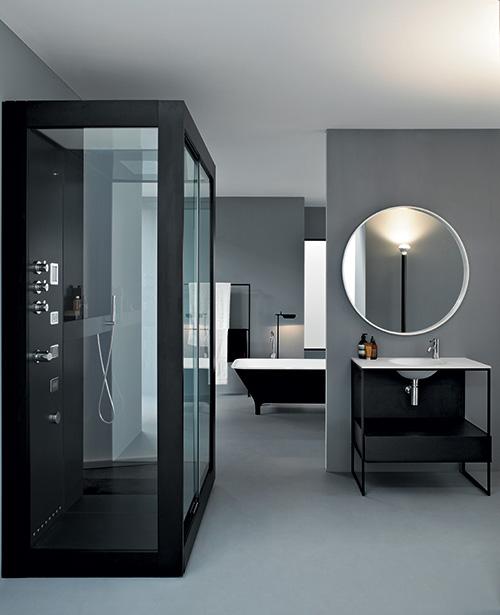 Cabinas De Ducha Kos:Masculine Bathroom Design