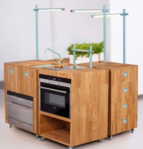 Cocina de madera reciclada for Cocinas recicladas