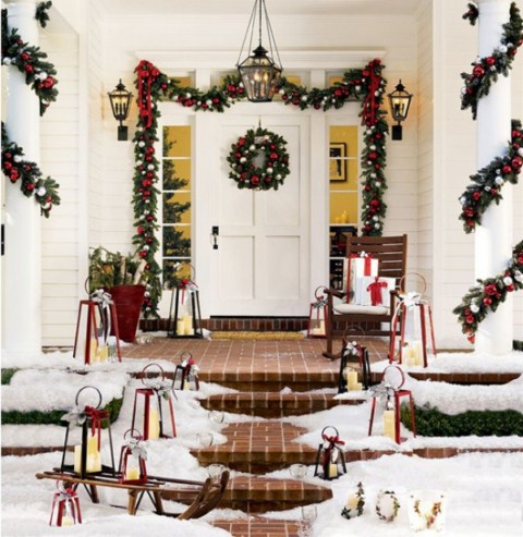 Como Decorar Navidad Un Portal De Vecinos