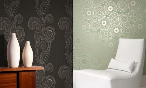 Paredes pintadas o papel pintado - Fotos paredes pintadas ...